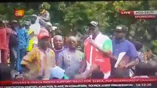 Fayose Replies Yahaya Bello, Says He is a Small Boy