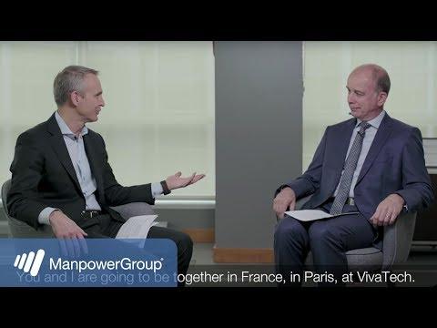 ManpowerGroup @ Viva Tech 2018: Conversation between Jonas Prising & Alain Roumilhac