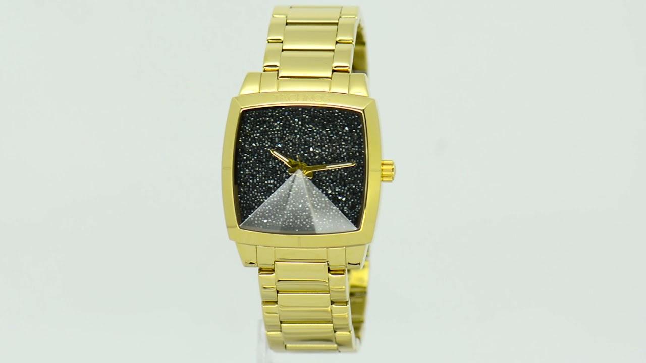 Relógio Technos Feminino Elegance Crystal 2039AK 4P - Eclock - YouTube 54b1f6d891