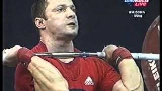 2005 World Weightlifting, 85 Kg Clean and Jerk