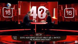 40 de intrebari cu Denise Rifai - Marian Vanghelie a vrut sa-l bata pe Adrian Nastase?