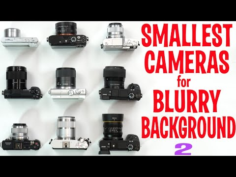 Smallest Interchangeable Lens Cameras For Blurry Background Bokeh 2