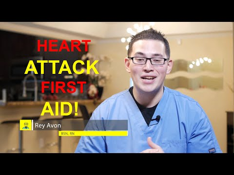 Heart Attack First Aid I Clerverscrubs