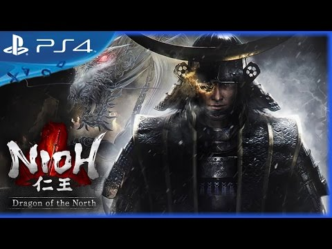 Nioh (2017) Dragon of the North DLC Gameplay Trailer - PS4