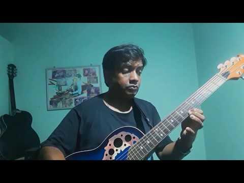 Madhumalti dake ay guitar lead end music part lesson 1st