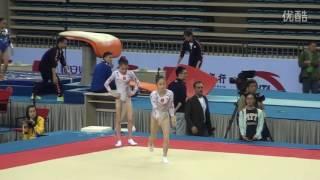 谭佳薪 Tan Jiaxin FX PT 2016 CHN Nationals Hefei