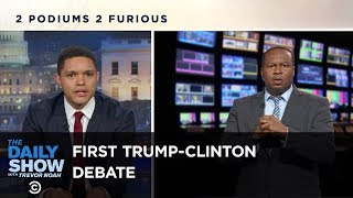 The Daily Show - Sparks Fly at the First Trump-Clinton Presidential Debate by : The Daily Show with Trevor Noah