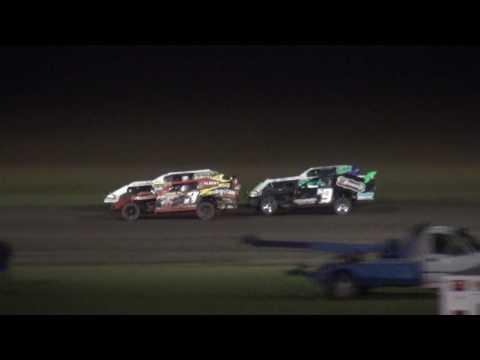 IMCA Sport Mod Championship feature Benton County Speedway 9/18/16