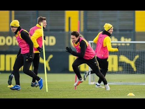 BVB-Training vor dem REVIERDERBY auf Schalke | ReLIVE