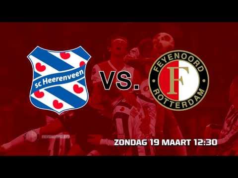 sc Heerenveen versus Feyenoord