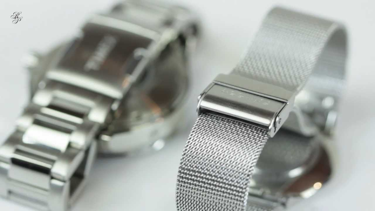 Types Of Watch Bands >> How To Choose A Watch Band Youtube