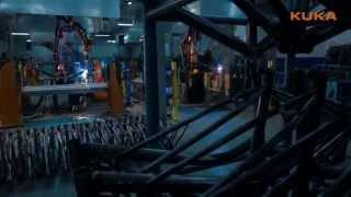KUKA Robotics на заводе Форвард
