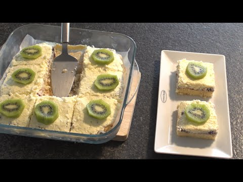 Torte me Crem Panna dhe Kokos Receta e Nenes