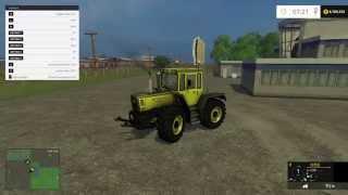 Farming Simulator 2015 Mod Testing MB TRAC 1800 Intercooled
