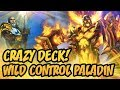 Crazy Deck! Wild Control Paladin | The Boomsday Project | Hearthstone