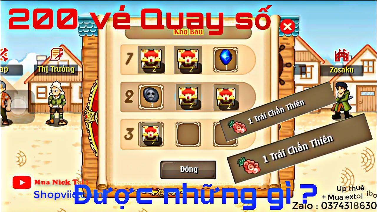 Hải Tặc Tí Hon [ s2shazam2s ] : Chức Năng Hút Máu Nhất Nhì Game _ Mở Rương Đại Ác Quỷ !!