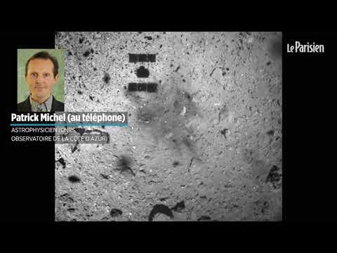 La sonde Hayabusa 2 touche la surface d\'un astéroïde