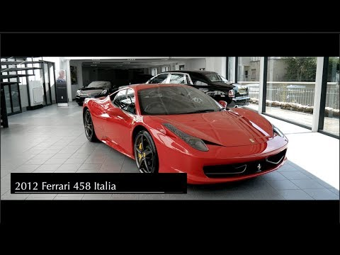 2012 Ferrari 458 Italia Youtube