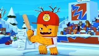 Мультфильм про бейсбол ⚾Трейлер 🏏 ЙОКО ❄⛄ Снежки