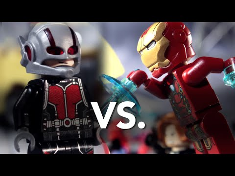 LEGO Civil War: Ant-Man vs. Iron Man