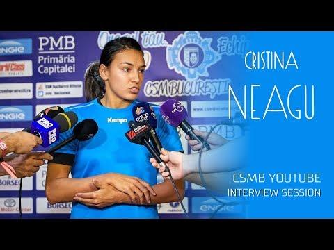 CSMB TV Interview Session: Cristina Neagu