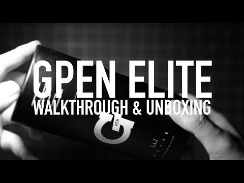 G Pen Elite Unboxing & Walkthrough