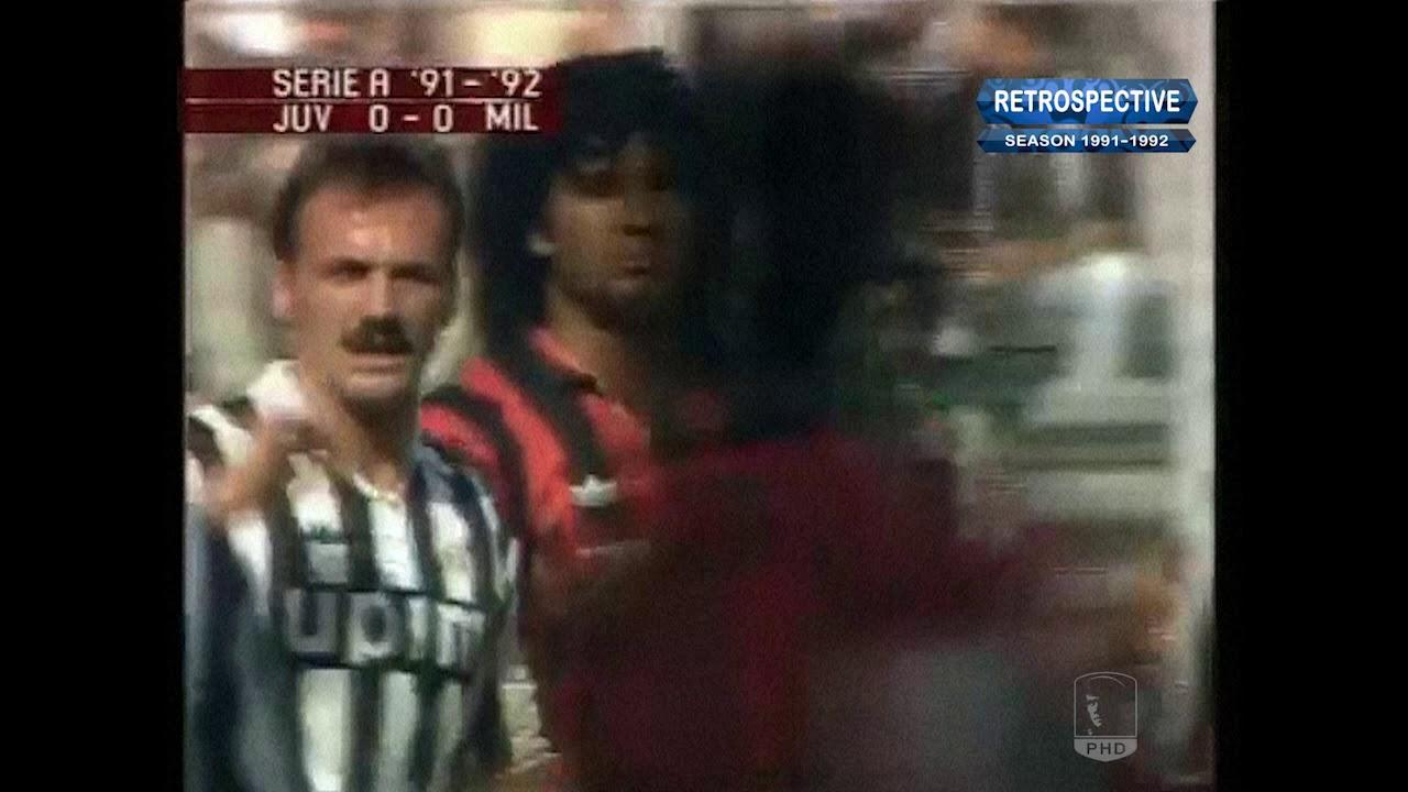 Serie A 1991-92, g03, Juventus - AC Milan