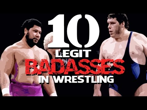 10 LEGIT Badasses in Wrestling! (Wrestling's Toughest)