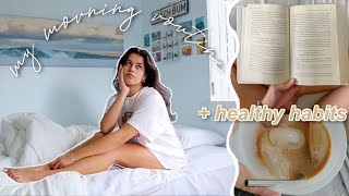 My Morning Routine SPRING 2020 + healthy habits