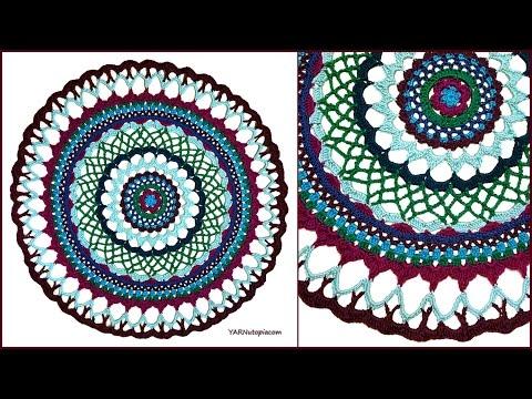 Crochet Tutorial: Henna Inspired Mandala