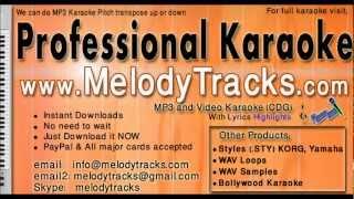 Brindavan Ka Krishna Kanhaiya - Rafi KarAoke - www.MelodyTracks.com