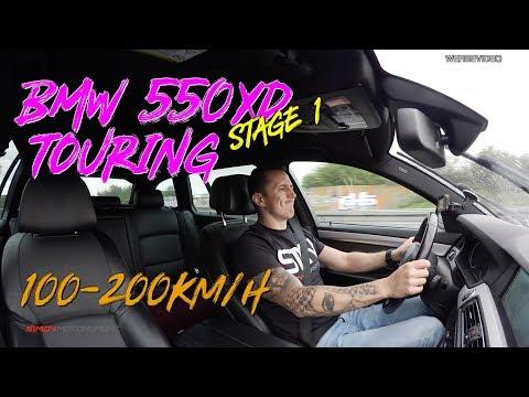 BMW 550XD Stage 1   100-200km/h   SimonMotorSport   #704