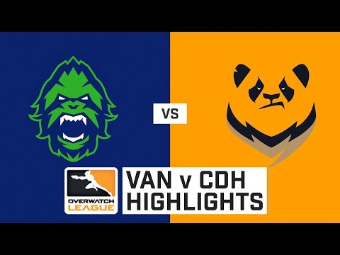HIGHLIGHTS Vancouver Titans vs. Chengdu Hunters | Stage 1 | Week 4 | Day 4 | Overwatch League thumbnail