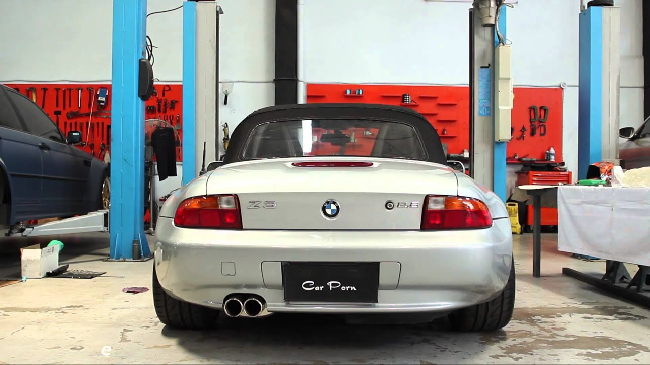 Bmw Z3 With Varex Variable Twin Tip Exhaust Youtube