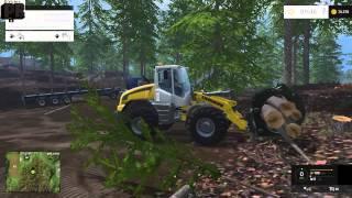 Farming Simulator 15 Odunculuk Rehberi Bölüm 2 Odunları Yükleme