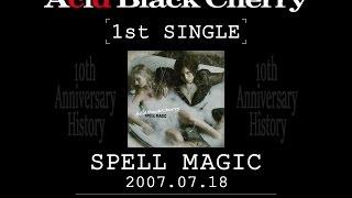 1st single「SPELL MAGIC」~ 19th single「INCUBUS」 ※ジグソーはAlbum...