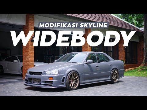 Modifikasi Skyline: Wide Body