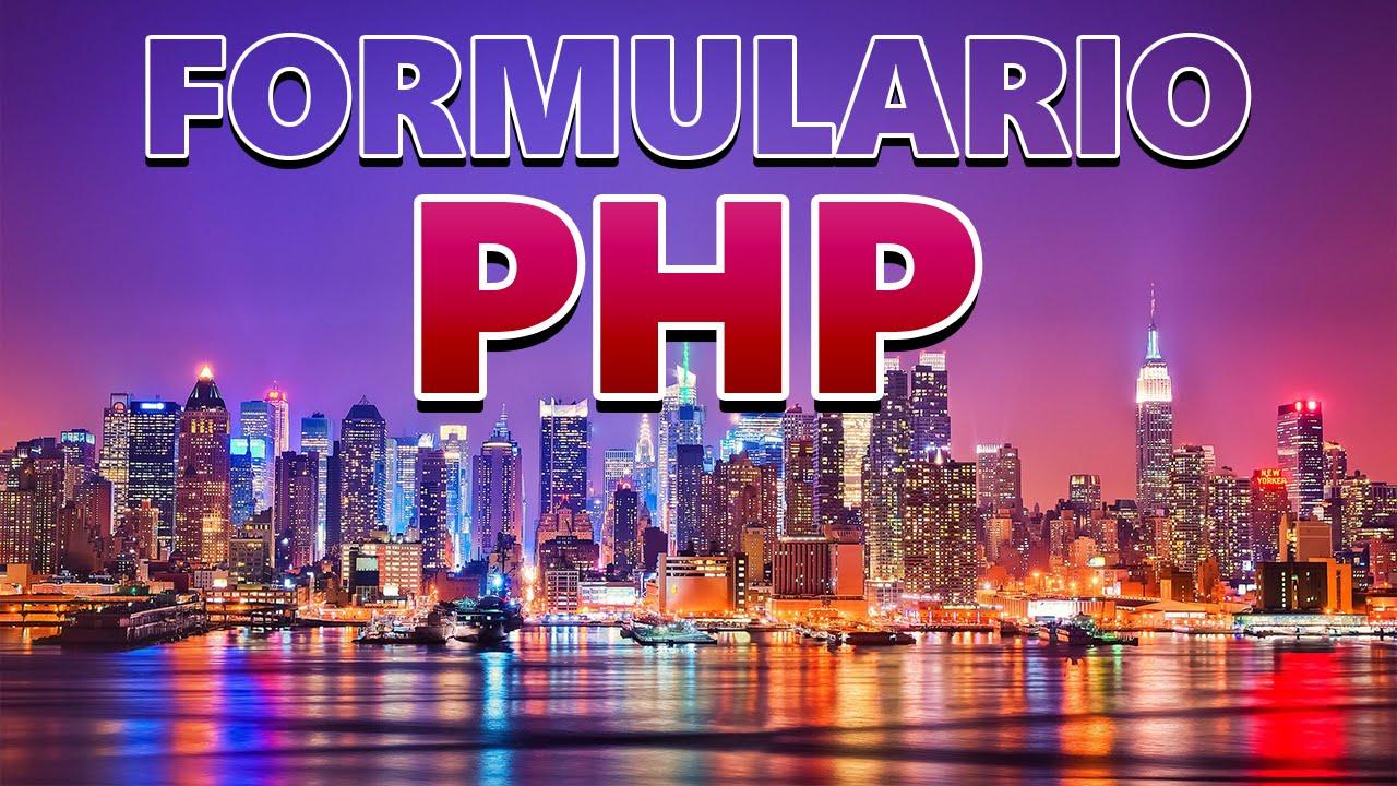 Enviar Correo (email) con Formulario Html5 y PHP \