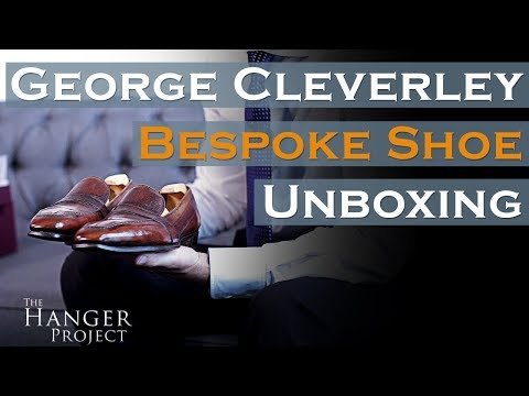 Unboxing Bespoke Shoes | George Cleverley Pigskin Loafers