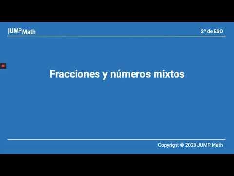 2º. Unidad 1. Fracciones y números mixtos