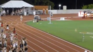 texas relays 2015 dmr heat 1 new braunfels girls