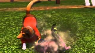 Sims 3 Pets- Dog And Cat Ripping Toy