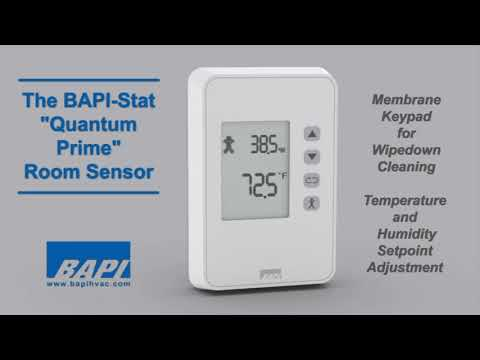 "BAPI-Stat ""Quantum Prime"" Temp and Humidity Sensor"