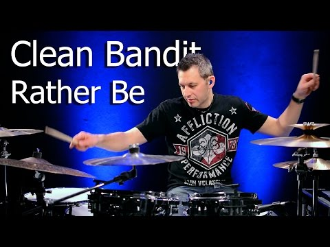 CLEAN BANDIT - Rather Be   Drum Cover - Horst Pock