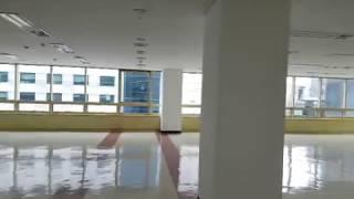 8층 엘리베이터홀과 화장실, 임대공간 동영상