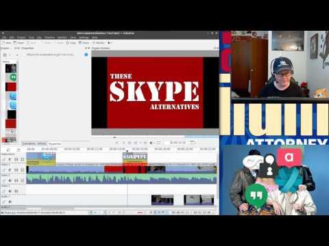 Behind The Scenes - Linux Skype Alternatives Parody (2016)