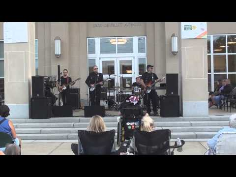 Beatles Tribute band Revolution Pie show at Lakewood Public Library