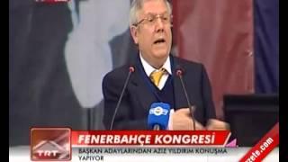 Fenerbahçe Kongresinde Aziz Yıldırım'ın Açıklaması 02.11.2013