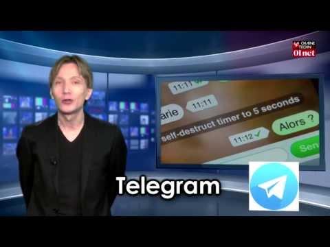 Télégram : la messagerie instantanée anti-espion (test appli smartphone)