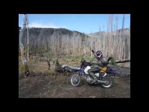 Dualsport riding in Idaho